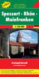 Freytag&Berndt Niemcy Spessart-Rhon-Mainfranken mapa T10T 1:150 000 Freytag & Berndt