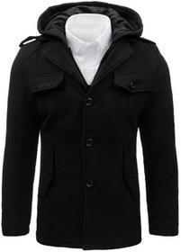 Dstreet Płaszcz męski czarny (cx0369) cx0369_m
