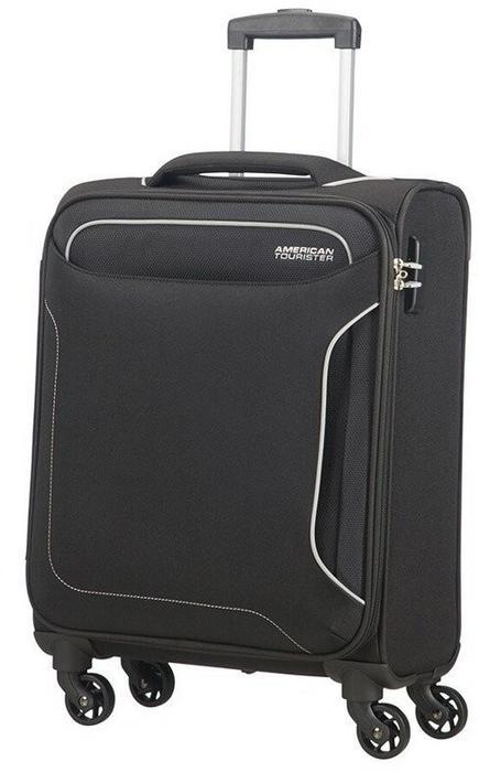 American Tourister Mała walizka 50G HOLIDAY HEAT czarna 50G*09004