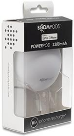 MAH Powerbank Boompods Boompods Powerpod 2300 Apple MFi white PPIWHT