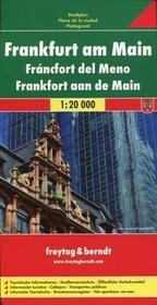 Freytag&berndt Frankfurt nad Menem mapa 1:20 000 Freytag & Berndt - Freytag & Berndt