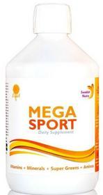Swedish Nutra Mega Sport witaminy i minerały w płynie 500 ml