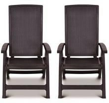 ALLIBERT 2x Krzesło ogrodowe Montreal 004164