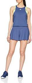 Adidas Damskie Melbourne Jumpsuit sukienka, niebieski, l CV8313