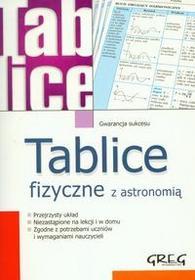 Nawrot Alicja Tablice fizyczne z astronomią / wysyłka w 24h