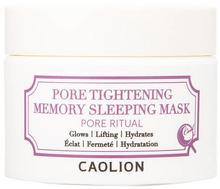 CAOLION Pore Tightening Memory Sleeping Mask - Maska na noc zwężająca pory