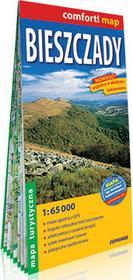 ExpressMap Bieszczady. Mapa turystyczna laminowana 1:65 000 praca zbiorowa