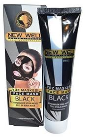 New Well Peel Off Maskczarne maska na twarz 100ML 100ml czarny 8680923317557
