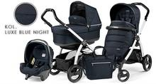 Peg Perego Book S Pop-Up Completo Modular Luxe Blue Night