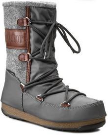 Moon Boot Śniegowce W. E. Vienna Felt 24004400001 Grey/Brown