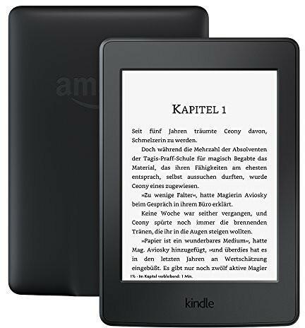 Amazon Kindle Paperwhite 3 4GB czarny 3G z reklamami