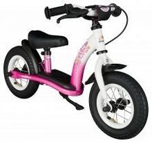"""BikeStar Rowerek biegowy 10"""" NISKI classic pink flamingo 22953176"""