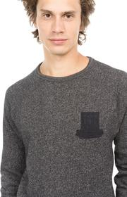 Scotch & Soda Sweter Czarny L (188808)