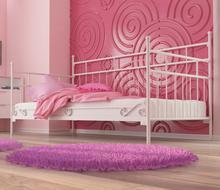 Lak System Łóżka metalowe Łóżko metalowe sofa 120x200 WZÓR 10 12020010