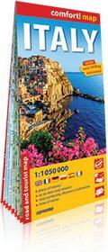 ExpressMap praca zbiorowa comfort! map Włochy (Italy). Laminowana mapa samochodowo-turystyczna 1:1050 000