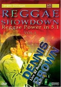 Reggae Showdown Vol.1 Live At Reggae Canfest DVD) Dennis Brown