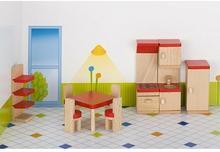 Goki KUCHNIA drewniane mebelki do domku dla lalek GK 51718