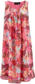 """Bonprix Sukienka z nadrukiem """"paisley"""" różowy z nadrukiem"""
