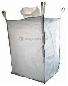 Wielkogabarytowy worek BIG BAG 6. 4 uchwyty, wym. 900x900x1200mm (Ładowność 1500 kg)