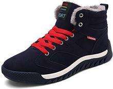 AFFINEST hutnictwa Nest buty zimowe ciepłe Sneakers High Top Basketball obuwie sportowe na czas wolny dla mężczyzn Adult Unisex -  czarny -  47 EU B07BNHWW9Q