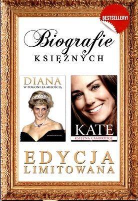 Pakiet Biografie księżnych. Diana w pogoni za miłością, Kate Księżna Cambridge - ANDREW MORTON
