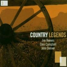 Country Legends [Box 3CD] Glen Campbell John Denver Jim Reev