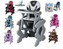 Caretero 2w1 Krzesełko do karmienia + stolik Primus 3DFB-40635