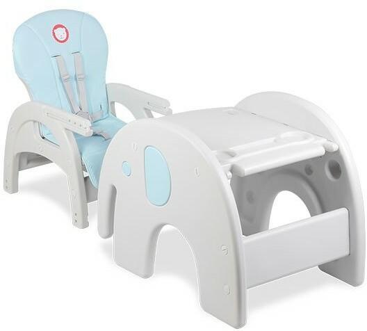 Lionelo Krzesełko do karmienia Lionelo Eli 5w1 - blue