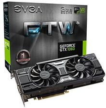 EVGA GeForce R GTX 1060 FTW Gaming VR Ready
