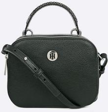 Tommy Hilfiger Th Core Crossover damska torba na ramię, 7,5 x 15,5 x 20 cm, kolor: czarny (czarny), rozmiar: jeden rozmiar