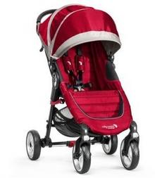 Baby Jogger City Mini 4W Crimson/Gray