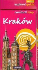 PRACA ZBIOROWA Kraków przewodnik + mapa