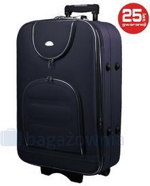 PELLUCCI Duża walizka PELLUCCI 801 L - Granatowy - granatowy