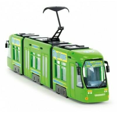 Dickie City Line tramwaj 46 cm zielony 203749005A