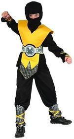 GoDan kostium karnawałowy, Żółty ninja, rozmiar 130/140