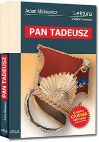 Greg Pan Tadeusz - lektury z omówieniem, liceum i technikum - Adam Mickiewicz