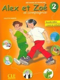 CLE International Alex et Zoe 2 Podręcznik - Colette Samson