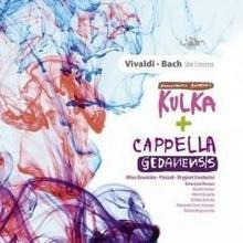 Soliton Vivaldi. Bach. Stile Concerto. CD Konstanty Andrzej Kulka, Cappella Gedanensis