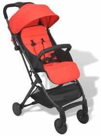 vidaXL wózek spacerowy czerwony SKU: 10135