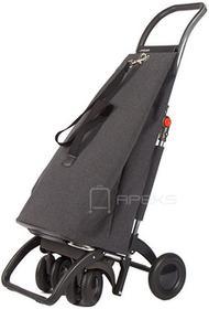 ROLSER Logic Tour EcoMaku składany wózek na zakupy MAK003 Carbon szary max 40 kg, rekomendowane do 25 kg
