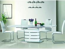 Signal Stół rozkładany Cres 160x220 cm i 8 krzeseł Halvar
