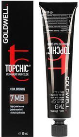 Goldwell Topchic, farba do włosów, 7MB Light Jade Brown, 60 ml