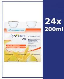 Nestle Health Science RESOURCE 2.0 Smak waniliowy 24x200 ml