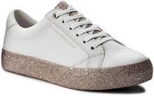 Tommy Hilfiger Sneakersy Sparkle Outsole Glitter Sneaker FW0FW02798 White/Pink 100