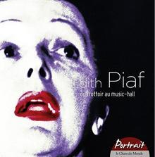 Edith Piaf Portrait Du Trottoir Au Music 5CD)
