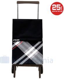 ROLSER Wózek na zakupy PLEGAMATIC Bora Czarny - czarny / szary