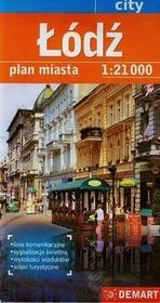 Demart Łódź - plan miasta (skala 1:21 000) - Demart