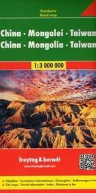 Chiny Mongolia Tajwan 1:3 000 000 - Freytag & Berndt