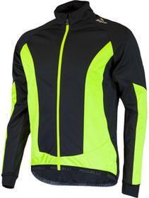 Rogelli UBALDO 2.0 zimowa kurtka rowerowa czarny-fluor