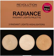 Revolution Makeup Makeup Revolution Highlighter Palette Paleta Rozświetlaczy Radiance MUR-20139UK